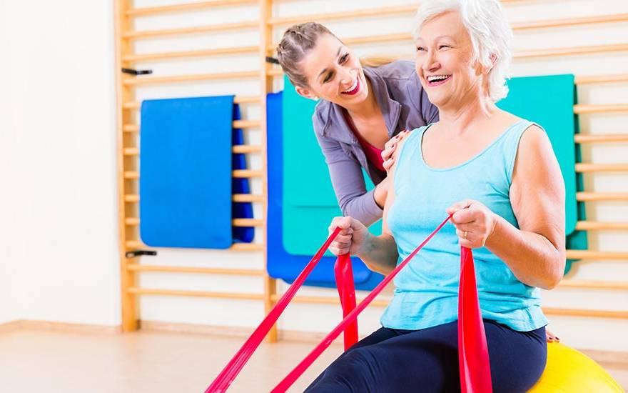A importância da fisioterapia na terceira idade