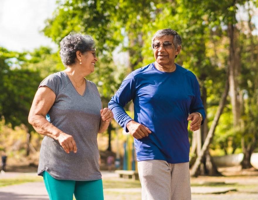 Atividade física reduz o risco de demência