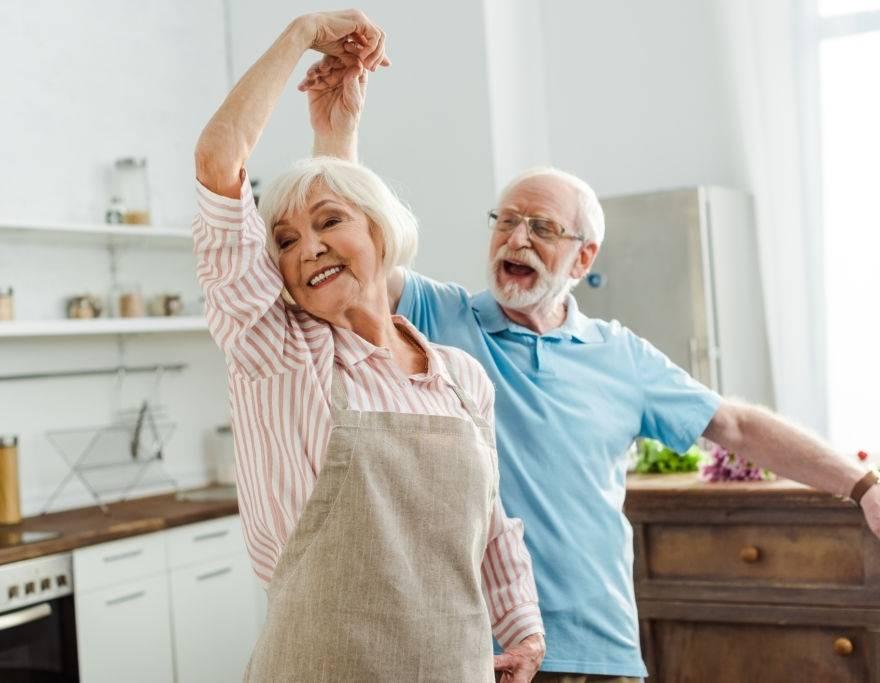 A conquista da felicidade na melhor idade